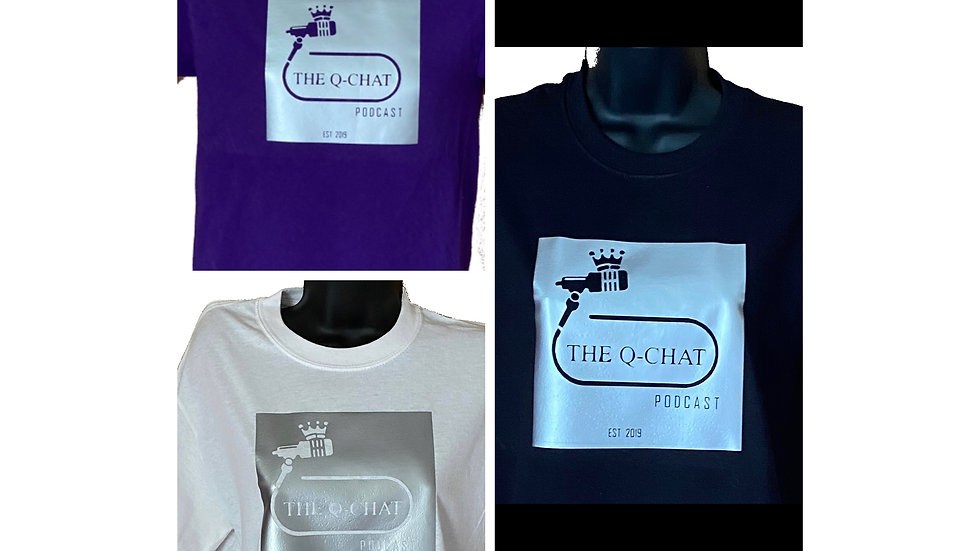 The Q-Chat Podcast Merchandise