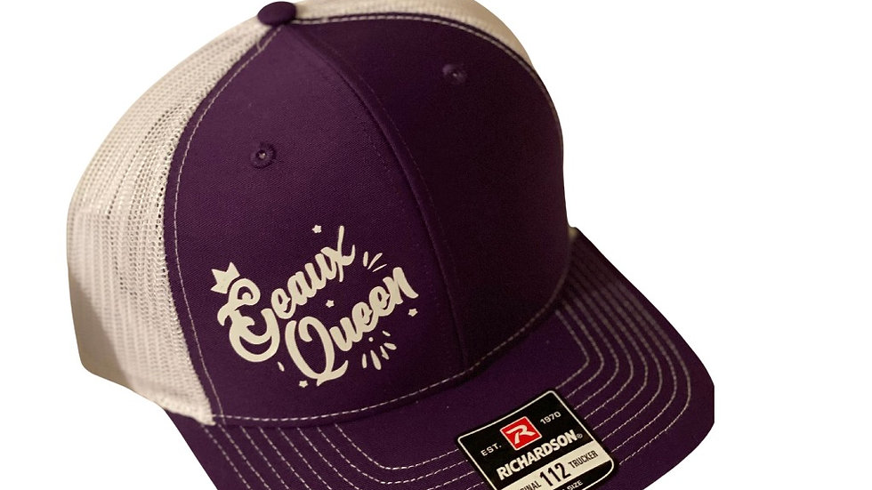 GEAUX QUEEN Signature Logo Snap back caps