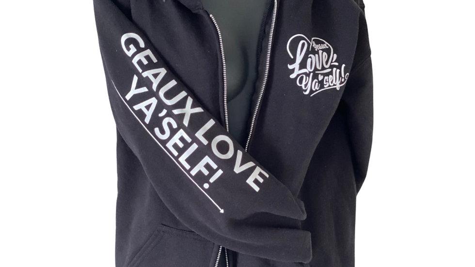 Geaux Love Ya'Self Hoodie Jacket