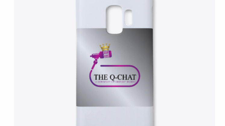 Q-Chat Podcast Phone Case Samsung