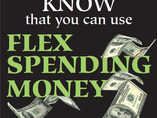 If you dont use it, you lose it! Use your Flex Sending account before the year is up!