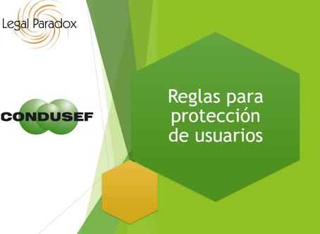 AFICO y Legal Paradox, S.C. revisan con Condusef reglas para proteger a usuarios.