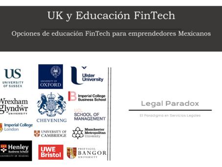 U.K. y Educación FinTech