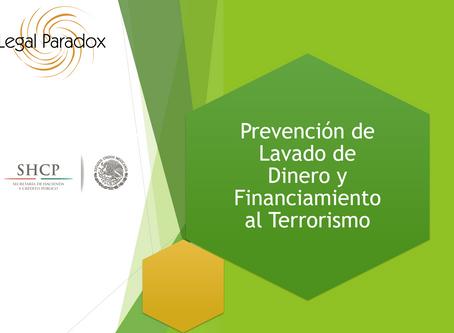 Ley FinTech. Prevención de Lavado de Dinero y Financiamiento al Terrorismo.