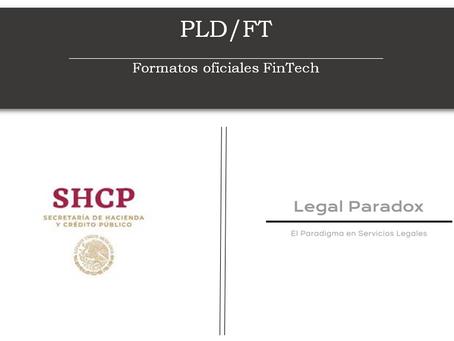 Publicación de layouts FinTech en PLD/FT