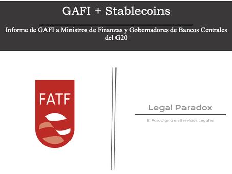 ¿Qué son las Stablecoins? y ¿Cuál es la reacción de GAFI?
