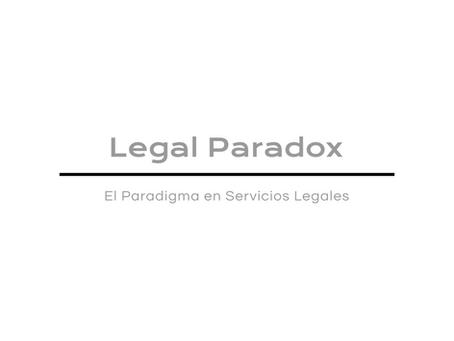 Legal Paradox contrata a extitular del Regulador FinTech.