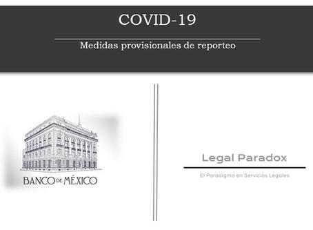 Banxico publica medidas provisionales FinTech por Covid-19