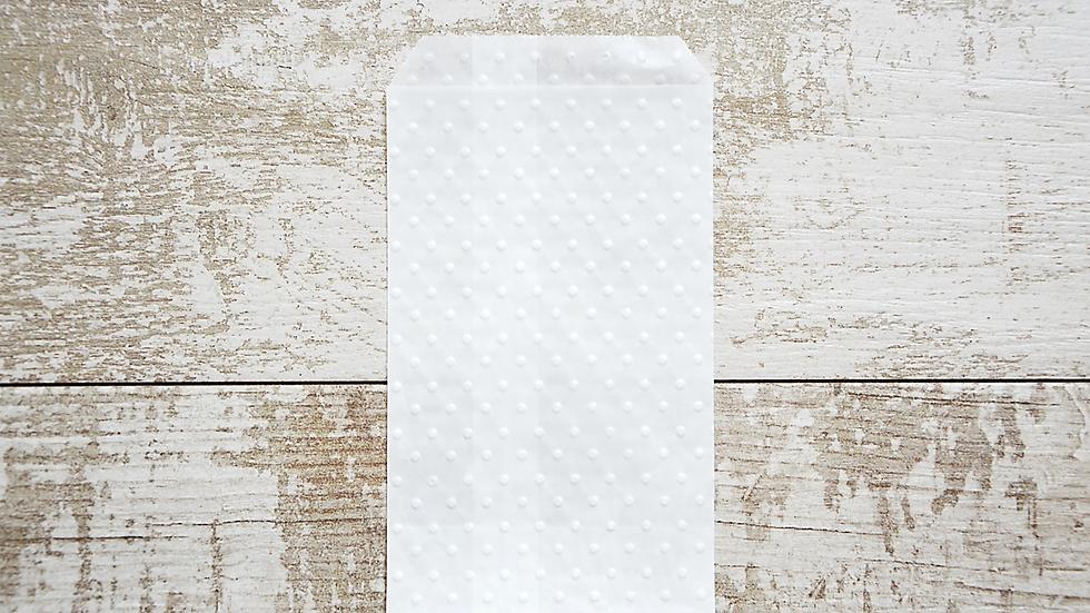 4.5x8.5 cm Bustine in carta pergamina