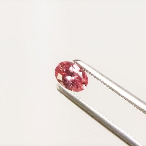 Peachy-Pink Sapphire 0.98 ct
