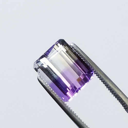 Bi-Color Amethyst 6.53 ct
