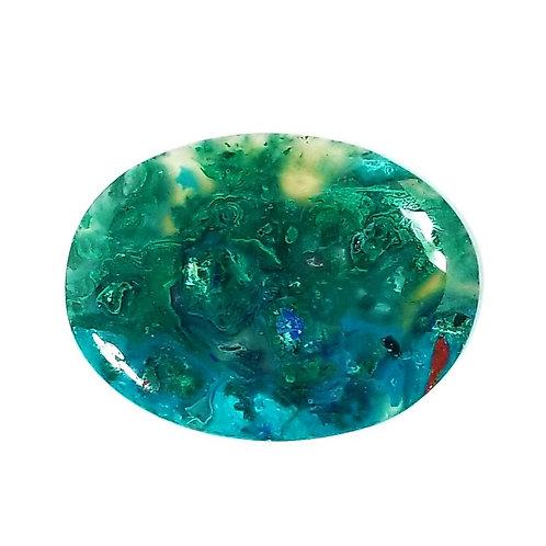 Chrysocolla-Malachite 134 ct