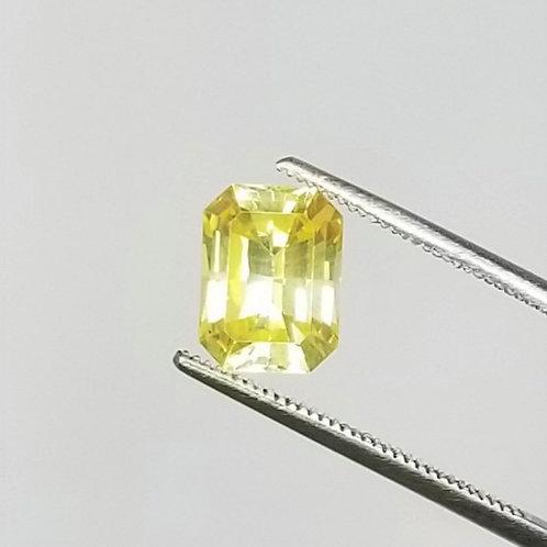 Yellow Sapphire 3.63 ct