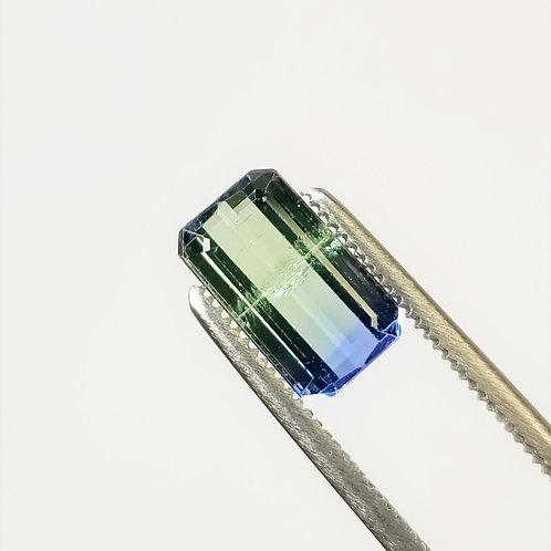 Bi-Color Tanzanite 2.93 ct