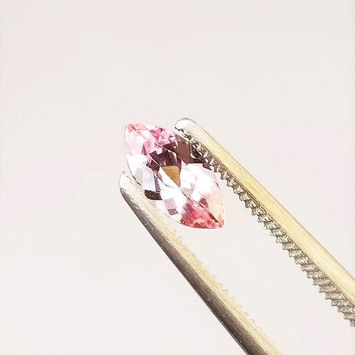 Pink Topaz 0.89 ct