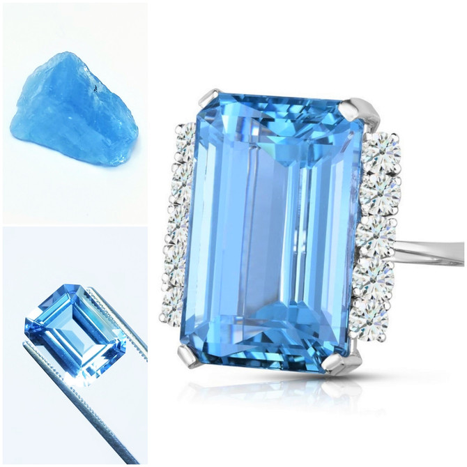 Aquamarine - Birthstone For March