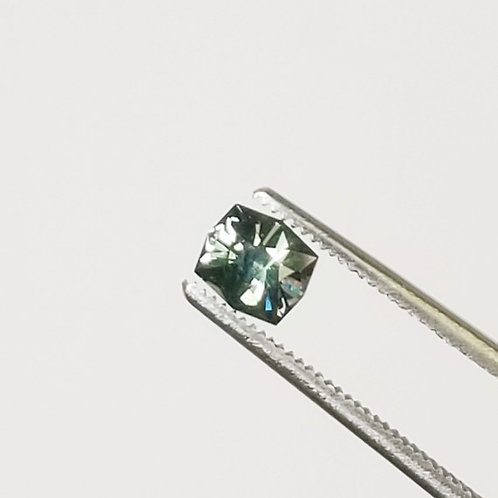 Teal Sapphire 0.90 ct