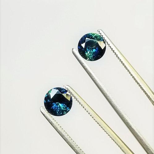Bi-Color Sapphire 2.46 cttw