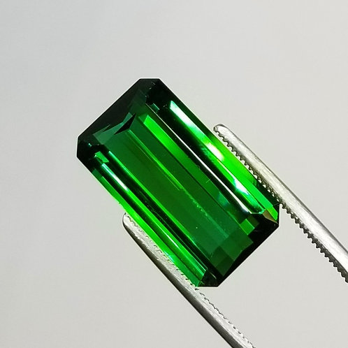 Green Tourmaline 13.62 ct