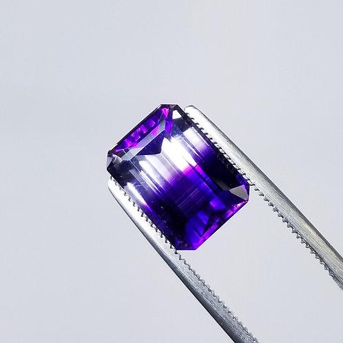 Bi-Color Amethyst 5.60 ct