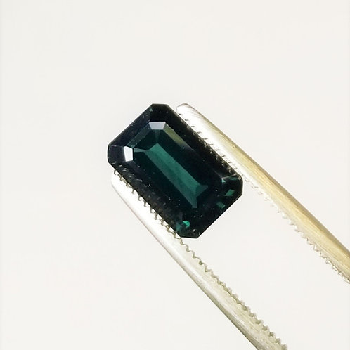 Teal Sapphire 2.51 ct