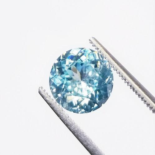 Blue Zircon 4.50 ct
