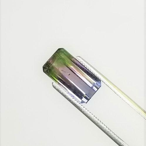 Parti-Color Tourmaline 4.96 ct