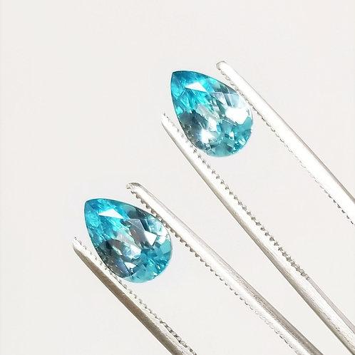 Blue Zircon 3.72 cttw