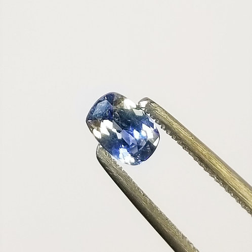 Bi-Color Sapphire 0.63 ct