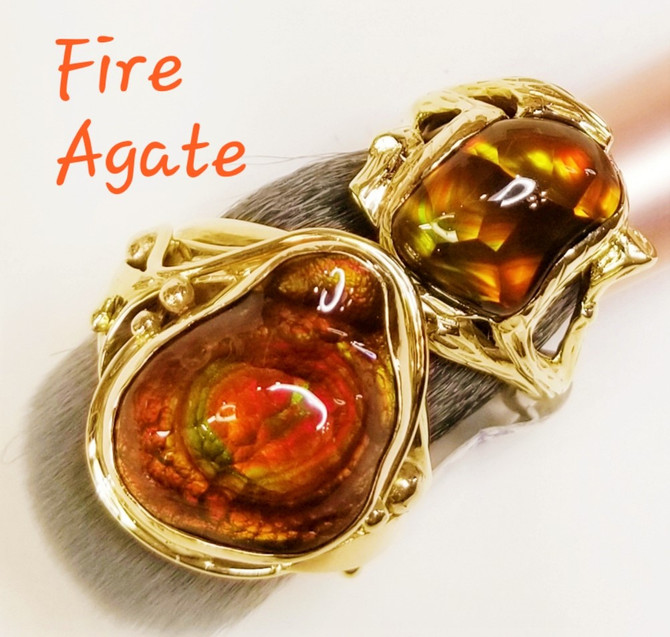 Amazing Fire Agate!
