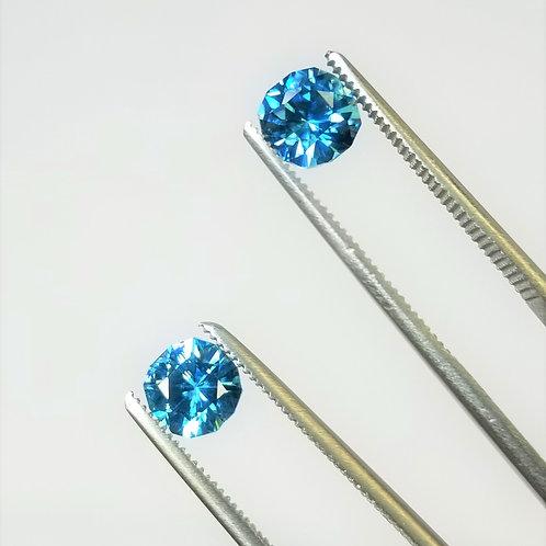 Blue Zircon 3.26 cttw