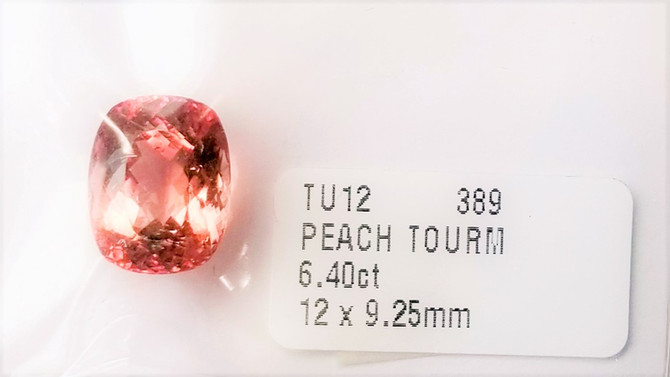 Peach Tourmaline