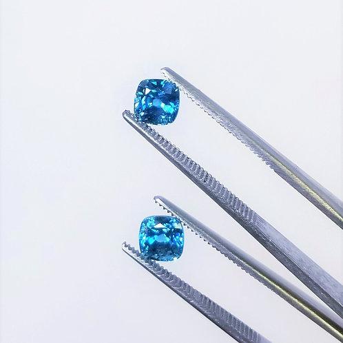 Blue Zircon 3.31 cttw