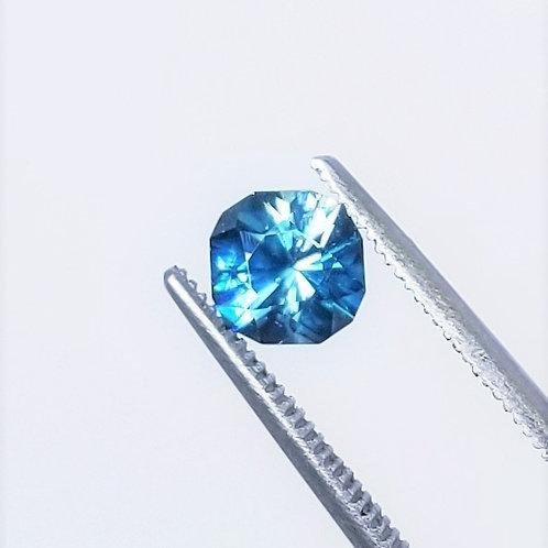 Blue Zircon 1.68 ct