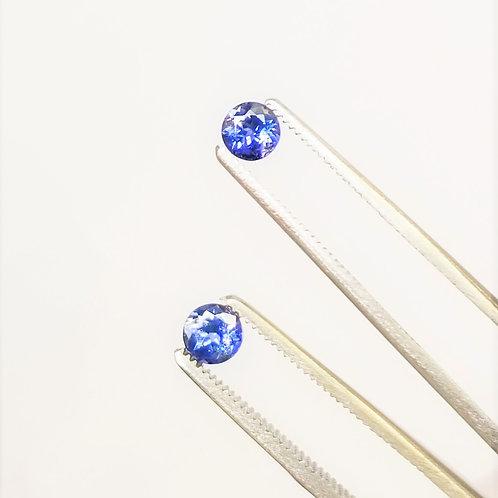 Bi-Color Sapphire 0.87 cttw
