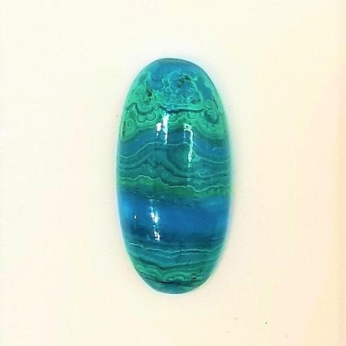 Chrysocolla-Malachite 11.80 ct