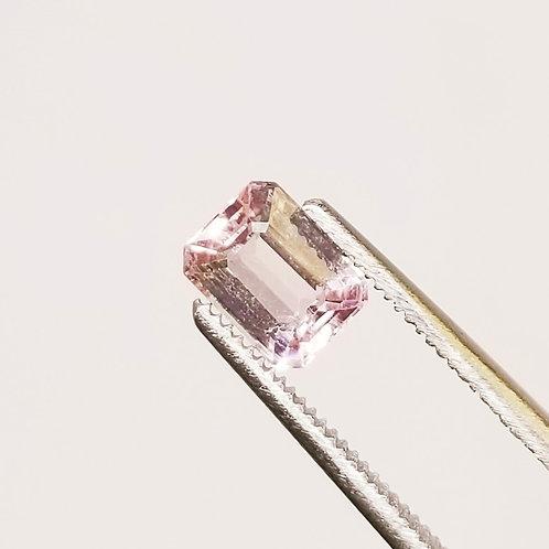 Peachy Pink Tourmaline 1.36 ct