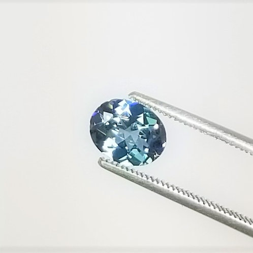 Teal Sapphire 2.19 ct