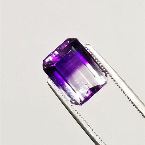 Bi-Color Amethyst 5.53 ct