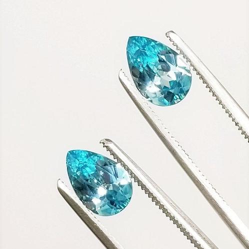 Blue Zircon 4.58 cttw