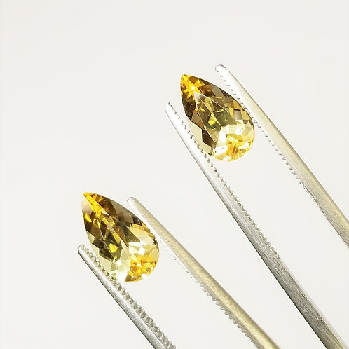 Yellow Topaz 4.45 ct tw