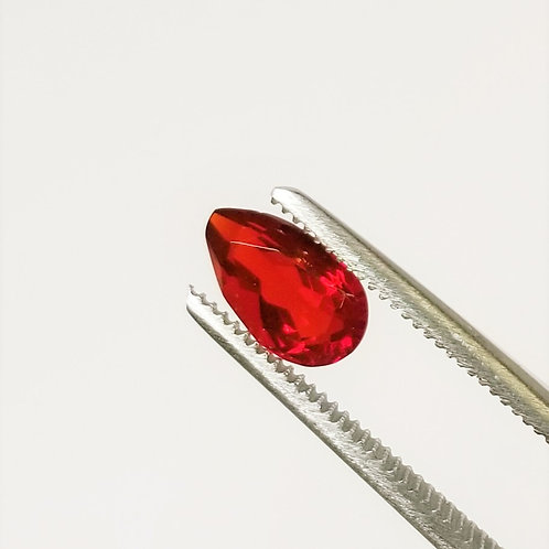 Mexican Fire Opal 0.75 ct