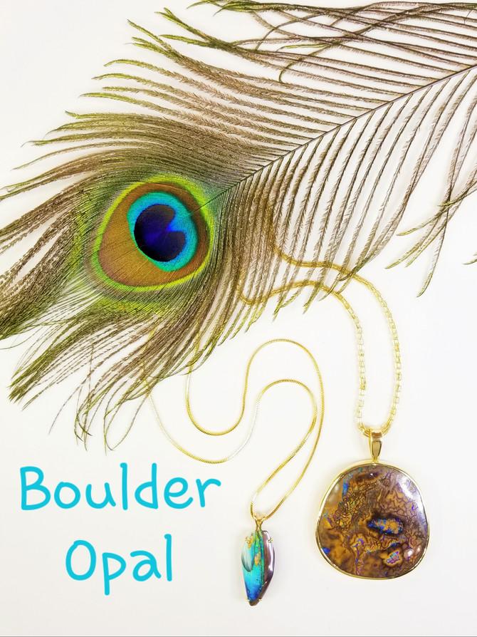 Boulder Opal Necklaces