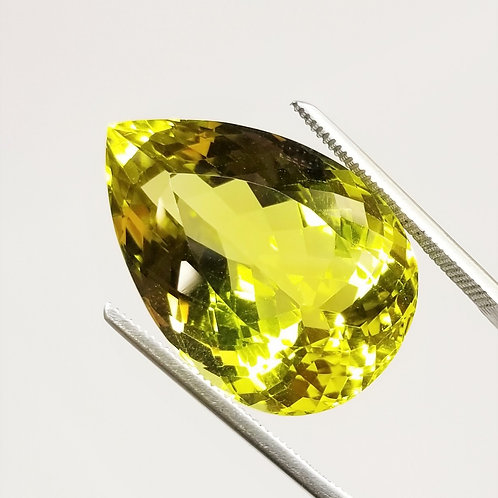 Lime Quartz 38.70 ct