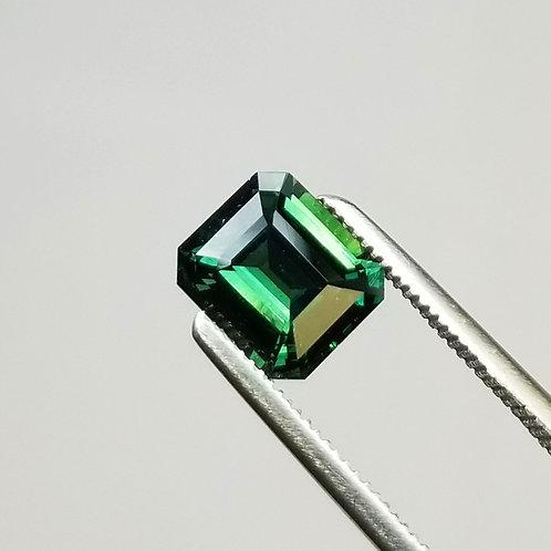 Green Sapphire 2.69 ct