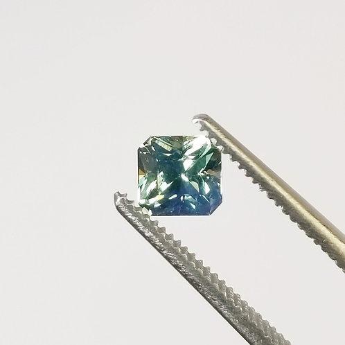 Bi-Color Sapphire 0.93 ct