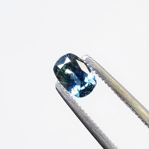 Bi-Color Sapphire 0.69 ct