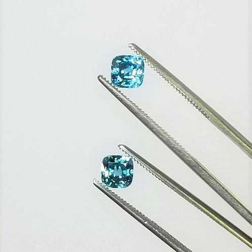 Blue Zircon 2.79 cttw