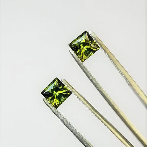 Green Tourmaline 4.01 cttw