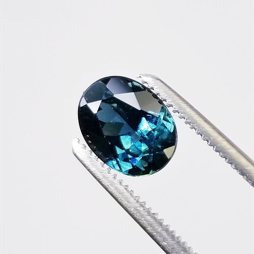 Teal Sapphire 1.60 ct